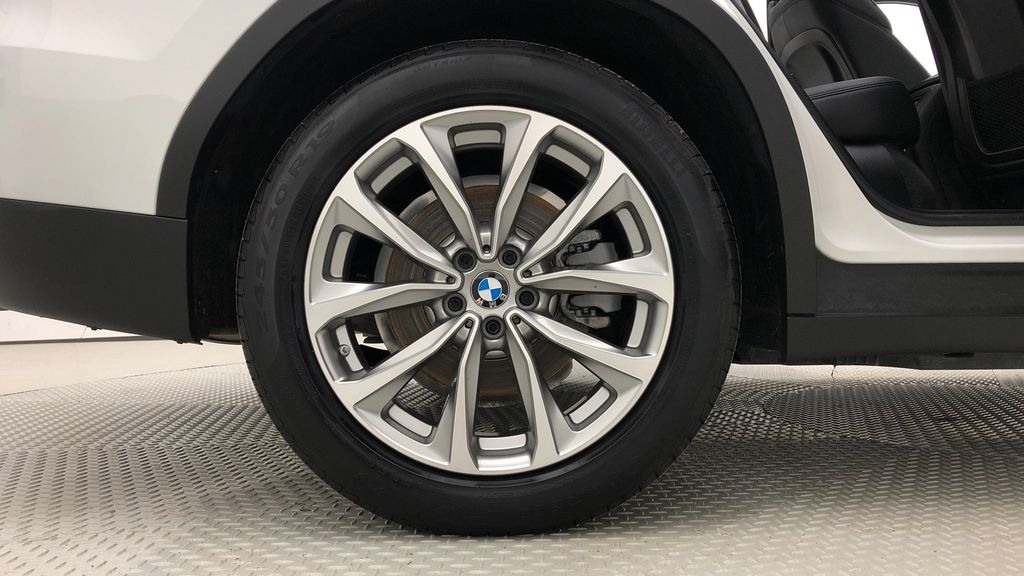 White[Alpine White] 2018 BMW X3 xDrive30i - Leather, Panoramic Roof, Navigation Right Rear Rim and Tire Photo in Winnipeg MB