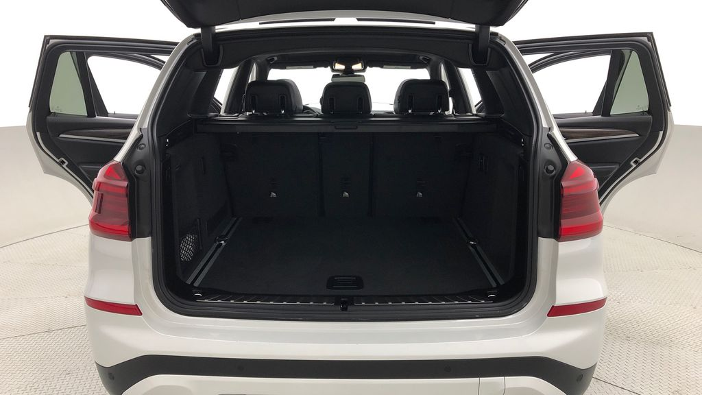 White[Alpine White] 2018 BMW X3 xDrive30i - Leather, Panoramic Roof, Navigation Trunk / Cargo Area Photo in Winnipeg MB