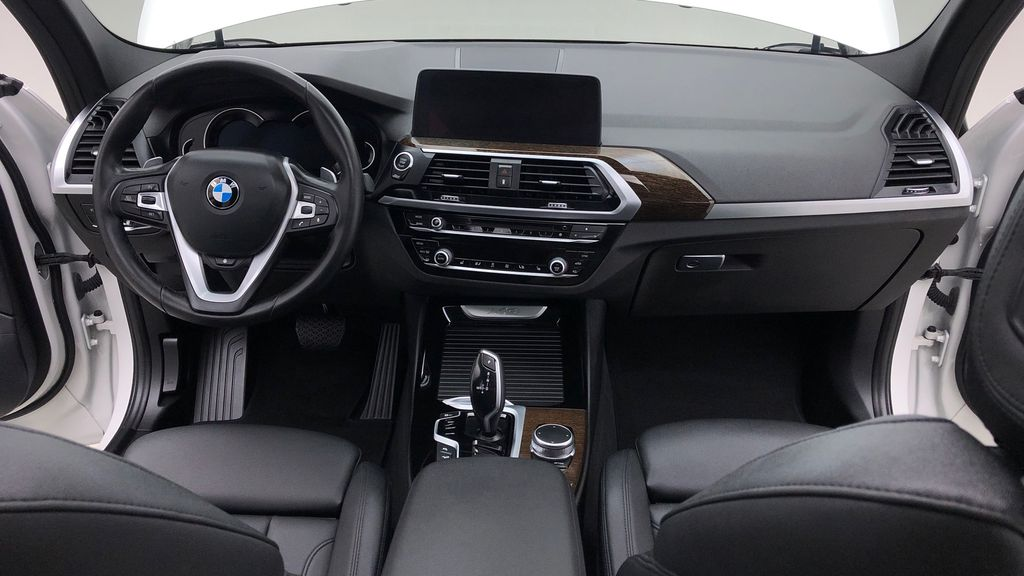 White[Alpine White] 2018 BMW X3 xDrive30i - Leather, Panoramic Roof, Navigation Central Dash Options Photo in Winnipeg MB