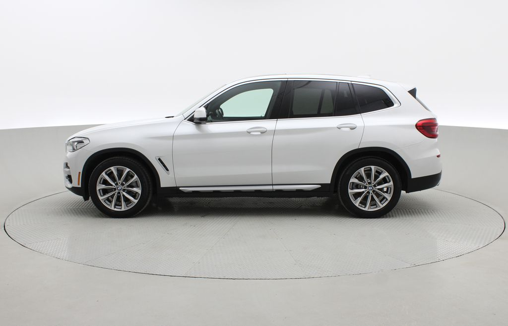 White[Alpine White] 2018 BMW X3 xDrive30i - Leather, Panoramic Roof, Navigation Left Side Photo in Winnipeg MB