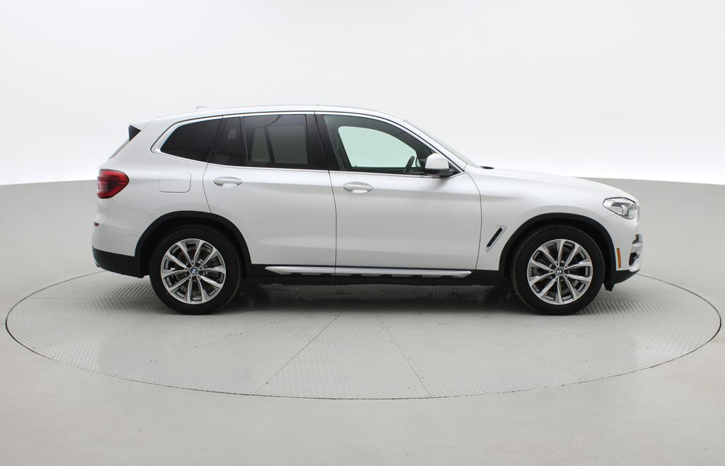 White[Alpine White] 2018 BMW X3 xDrive30i - Leather, Panoramic Roof, Navigation Right Side Photo in Winnipeg MB