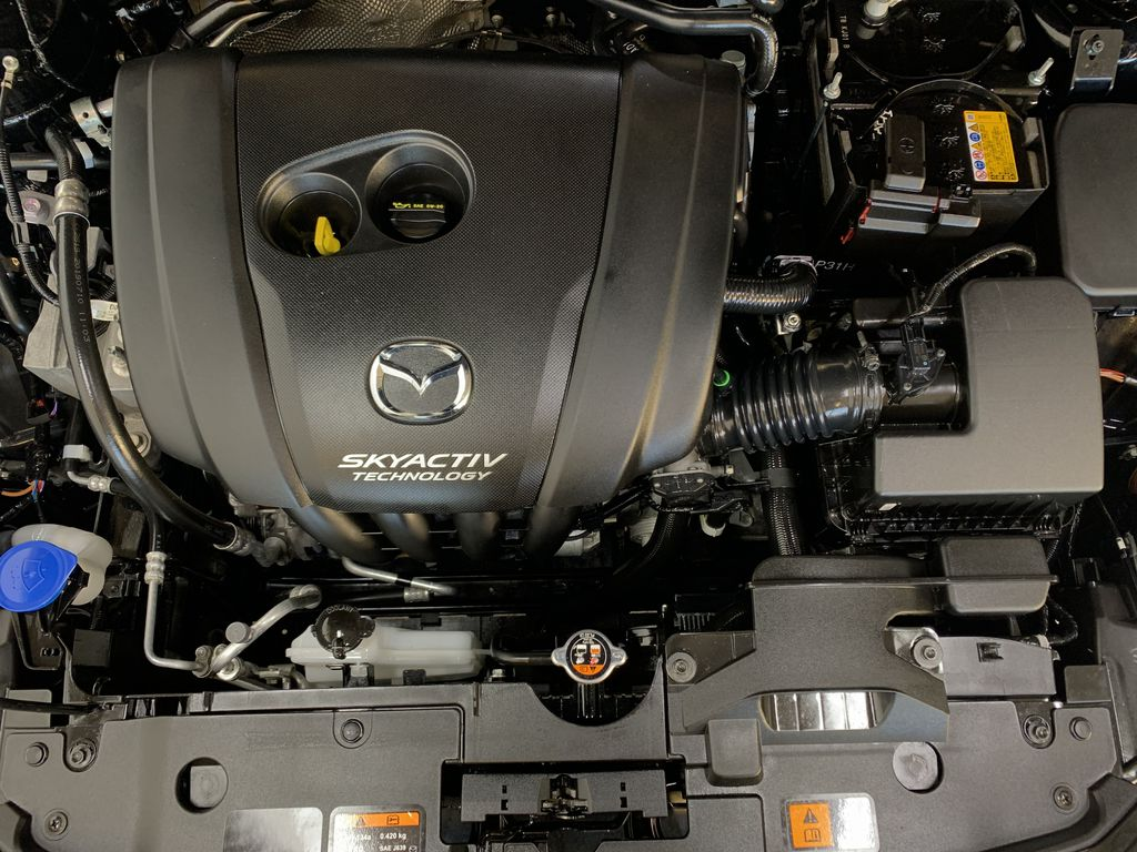 """BLACK 2020 Mazda CX-3 GS AWD - Hail Sale/ Make us an offer!"""" Engine Compartment Photo in Edmonton AB"""