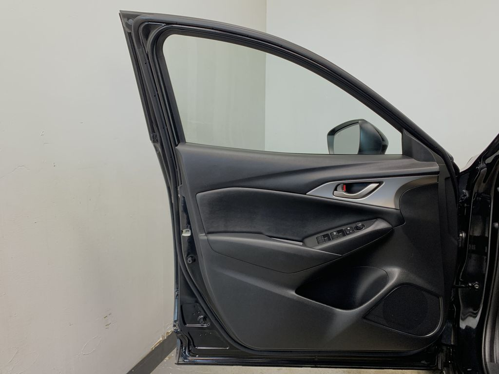 """BLACK 2020 Mazda CX-3 GS AWD - Hail Sale/ Make us an offer!"""" Left Front Interior Door Panel Photo in Edmonton AB"""