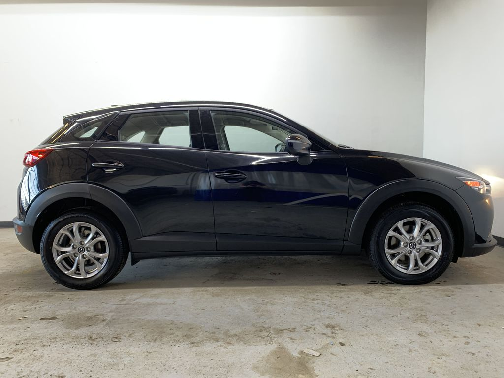 """BLACK 2020 Mazda CX-3 GS AWD - Hail Sale/ Make us an offer!"""" Right Side Photo in Edmonton AB"""