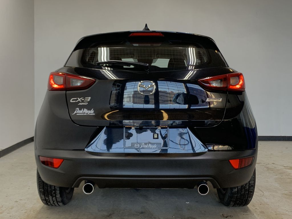 """BLACK 2020 Mazda CX-3 GS AWD - Hail Sale/ Make us an offer!"""" Rear of Vehicle Photo in Edmonton AB"""