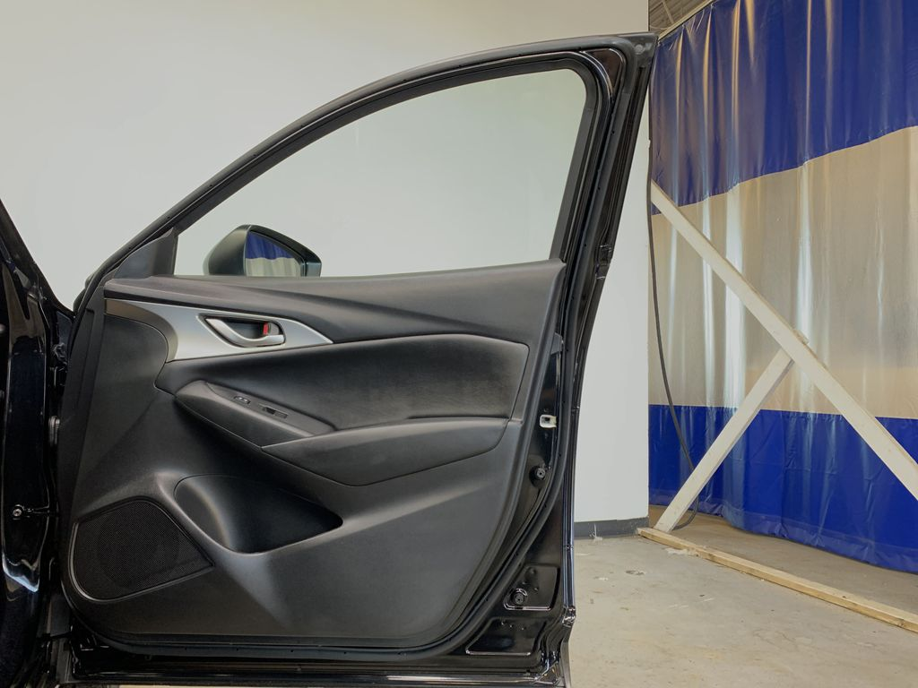 """BLACK 2020 Mazda CX-3 GS AWD - Hail Sale/ Make us an offer!"""" Right Front Interior Door Panel Photo in Edmonton AB"""