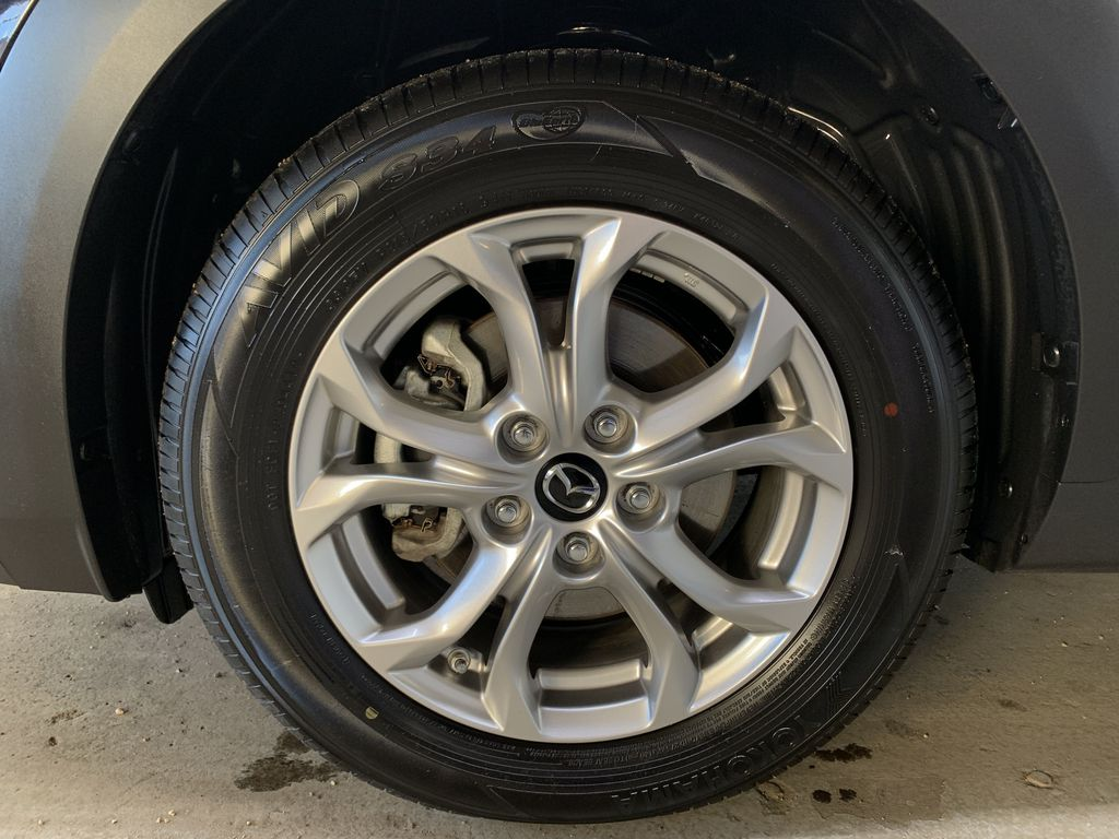 """BLACK 2020 Mazda CX-3 GS AWD - Hail Sale/ Make us an offer!"""" Left Front Rim and Tire Photo in Edmonton AB"""