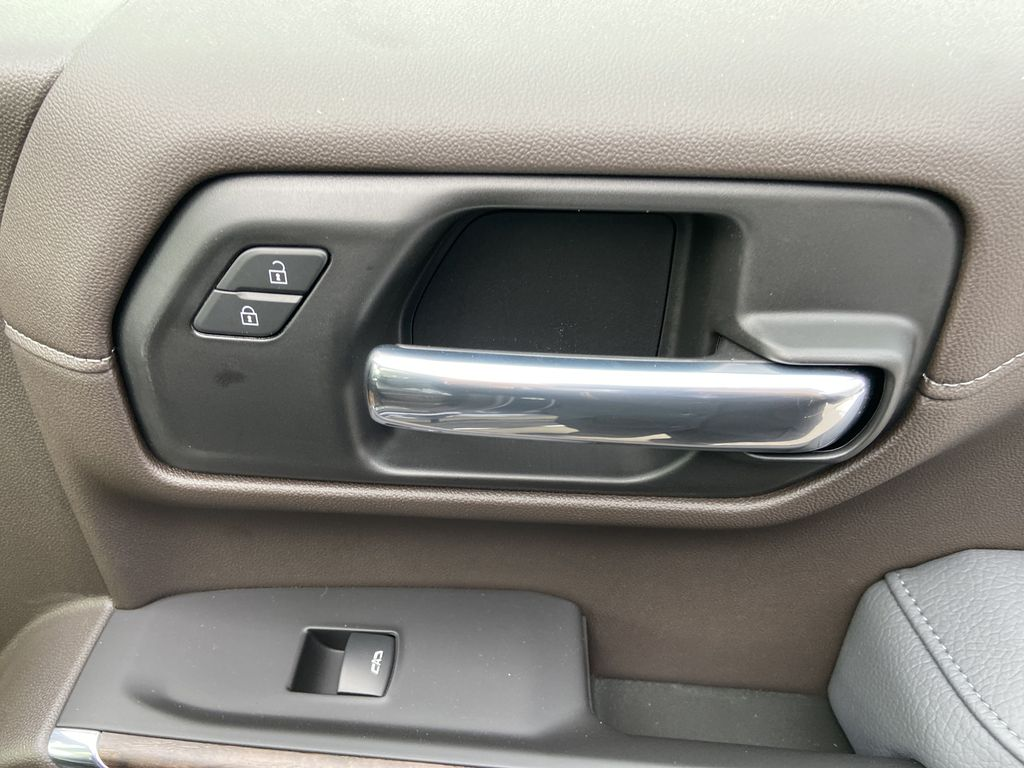 Gray[Dark Sky Metallic] 2021 GMC Sierra 1500 Denali Passenger Front Door Controls Photo in Calgary AB