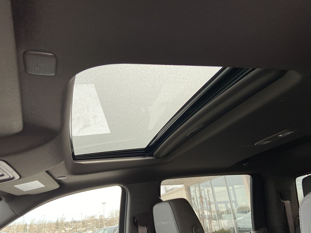 Gray[Dark Sky Metallic] 2021 GMC Sierra 1500 Denali Sunroof Photo in Calgary AB
