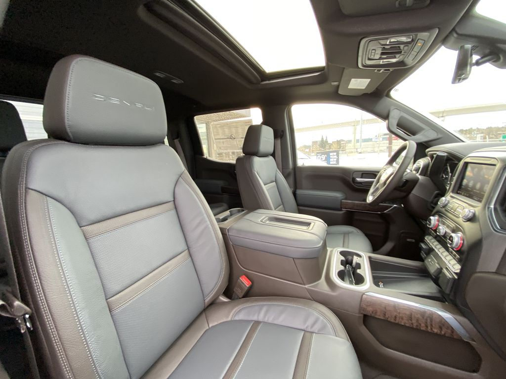 Gray[Dark Sky Metallic] 2021 GMC Sierra 1500 Denali Right Side Front Seat  Photo in Calgary AB