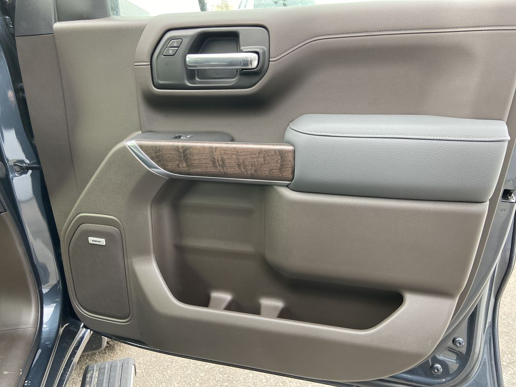 Gray[Dark Sky Metallic] 2021 GMC Sierra 1500 Denali Right Front Interior Door Panel Photo in Calgary AB