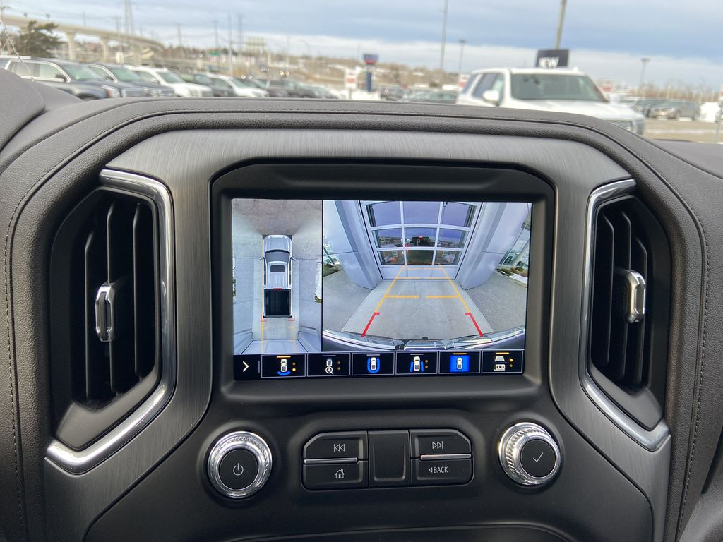 Gray[Dark Sky Metallic] 2021 GMC Sierra 1500 Denali Backup Camera Closeup Photo in Calgary AB