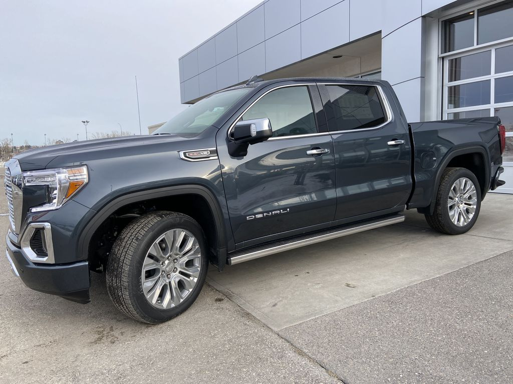Gray[Dark Sky Metallic] 2021 GMC Sierra 1500 Denali Left Front Corner Photo in Calgary AB