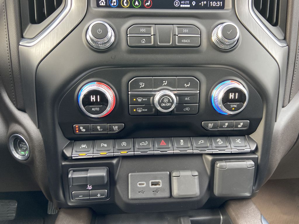 Gray[Dark Sky Metallic] 2021 GMC Sierra 1500 Denali Central Dash Options Photo in Calgary AB