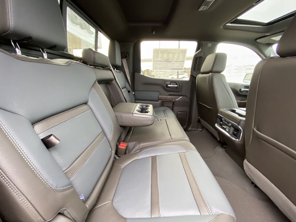 Gray[Dark Sky Metallic] 2021 GMC Sierra 1500 Denali Right Side Rear Seat  Photo in Calgary AB