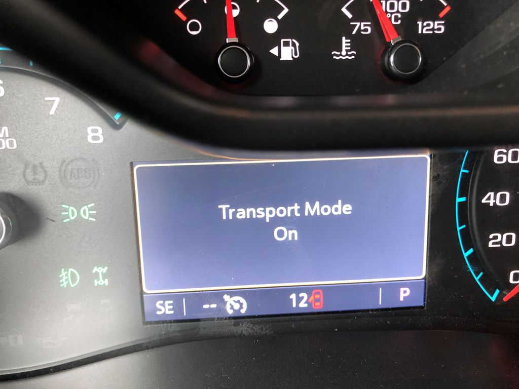 Black[Onyx Black] 2021 GMC Canyon AT4 Odometer Photo in Canmore AB