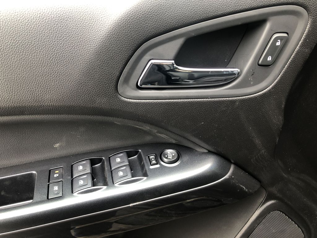 Black[Onyx Black] 2021 GMC Canyon AT4  Driver's Side Door Controls Photo in Canmore AB