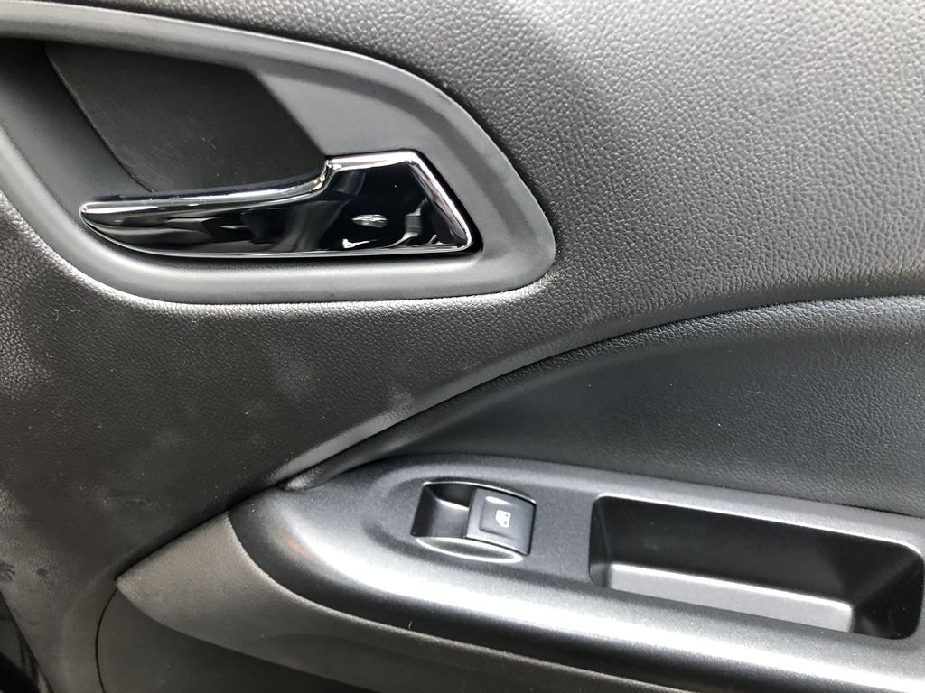 Black[Onyx Black] 2021 GMC Canyon AT4 Passenger Rear Door Controls Photo in Canmore AB