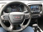 Black[Onyx Black] 2021 GMC Canyon AT4 Steering Wheel and Dash Photo in Canmore AB