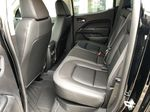Black[Onyx Black] 2021 GMC Canyon AT4 Left Side Rear Seat  Photo in Canmore AB