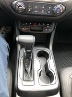 Black[Onyx Black] 2021 GMC Canyon AT4 Center Console Photo in Canmore AB