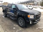 Black[Onyx Black] 2021 GMC Canyon AT4 Right Front Corner Photo in Canmore AB