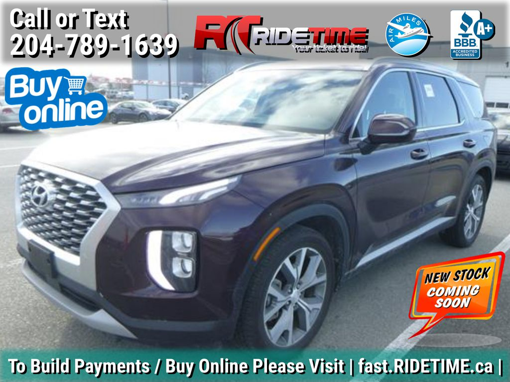 Red[Sierra Burgundy] 2020 Hyundai Palisade Preferred AWD - 8 Passenger, Sunroof, Bluetooth