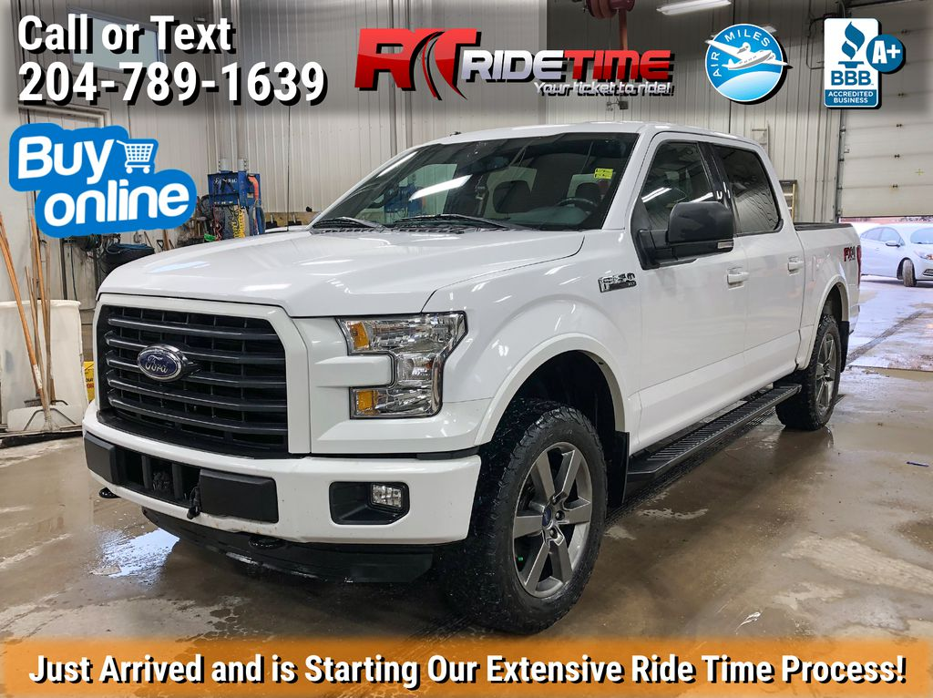 """White[Oxford White] 2015 Ford F-150 XLT FX4 4WD - Sport Package, Navigation, 145"""" WB"""