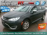 Black[Brilliant Black Crystal Pearl] 2018 Chrysler Pacifica Limited - Uconnect Theatre with Streaming Group Primary Listing Photo in Winnipeg MB