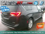 Black[Brilliant Black Crystal Pearl] 2018 Chrysler Pacifica Limited - Uconnect Theatre with Streaming Group Right Rear Corner Photo in Winnipeg MB