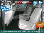 Black[Brilliant Black Crystal Pearl] 2018 Chrysler Pacifica Limited - Uconnect Theatre with Streaming Group Left Side Rear Seat  Photo in Winnipeg MB
