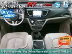 Black[Brilliant Black Crystal Pearl] 2018 Chrysler Pacifica Limited - Uconnect Theatre with Streaming Group Central Dash Options Photo in Winnipeg MB