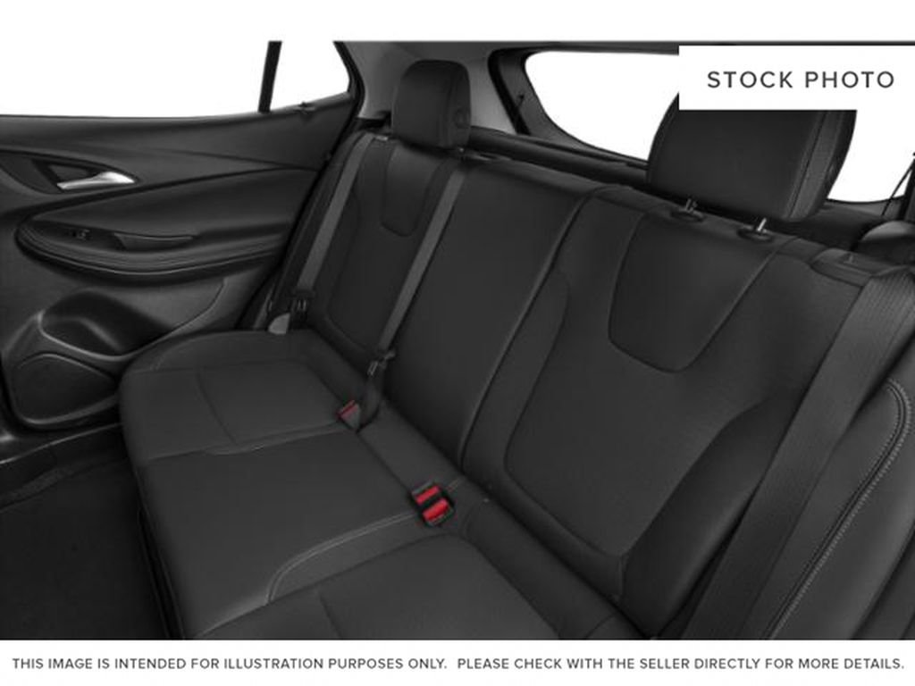 White Frost Tricoat 2021 Buick Encore GX Left Side Rear Seat  Photo in Oshawa ON