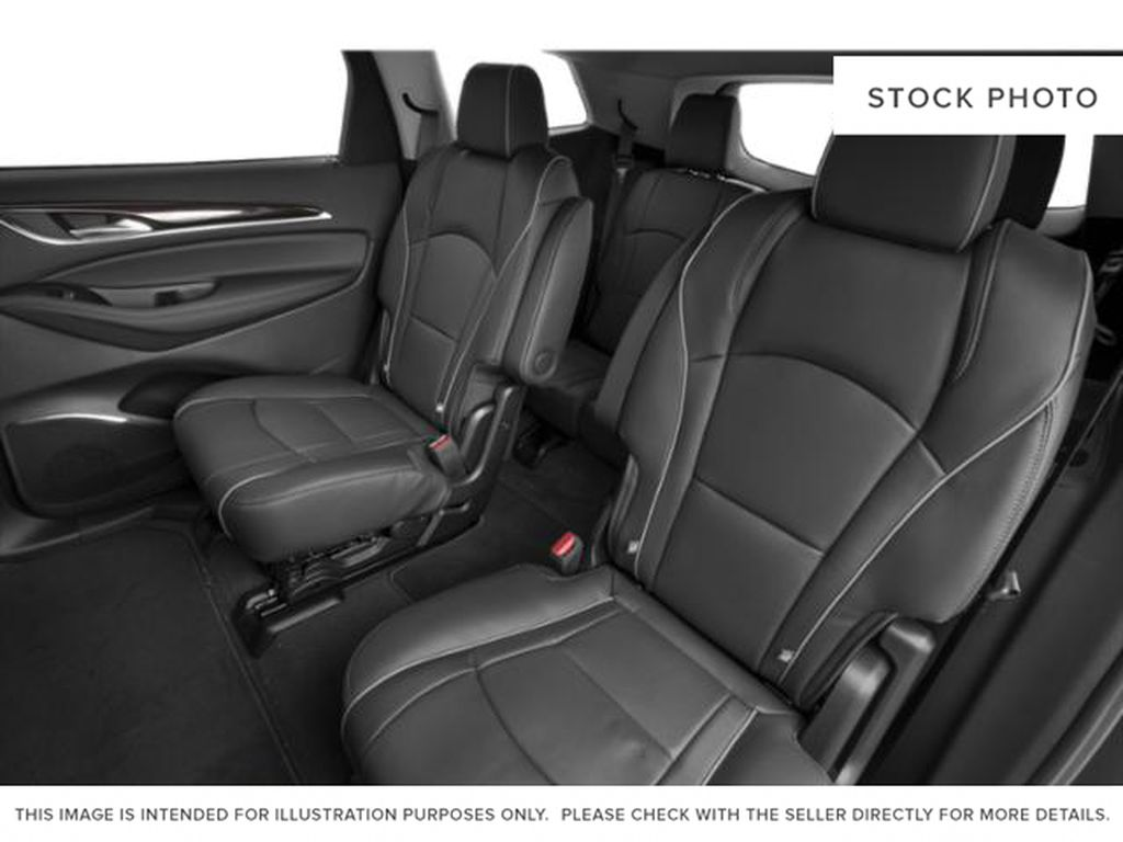 Rich Garnet Metallic 2021 Buick Enclave Left Side Rear Seat  Photo in Oshawa ON