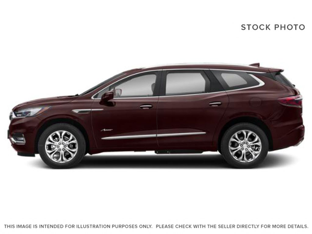 Rich Garnet Metallic 2021 Buick Enclave Left Side Photo in Oshawa ON