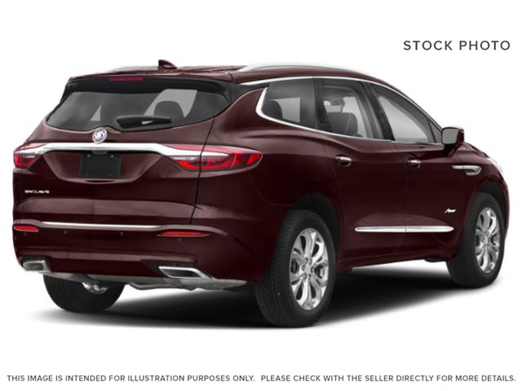 Rich Garnet Metallic 2021 Buick Enclave Right Rear Corner Photo in Oshawa ON