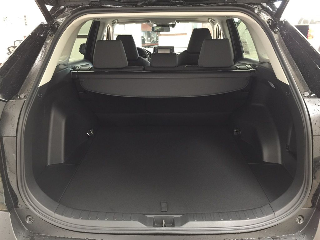 Black[Midnight Black Metallic] 2021 Toyota RAV4 XLE AWD Cargo Area/Rear Seats Photo in Sherwood Park AB