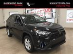 Black[Midnight Black Metallic] 2021 Toyota RAV4 XLE AWD Primary Listing Photo in Sherwood Park AB