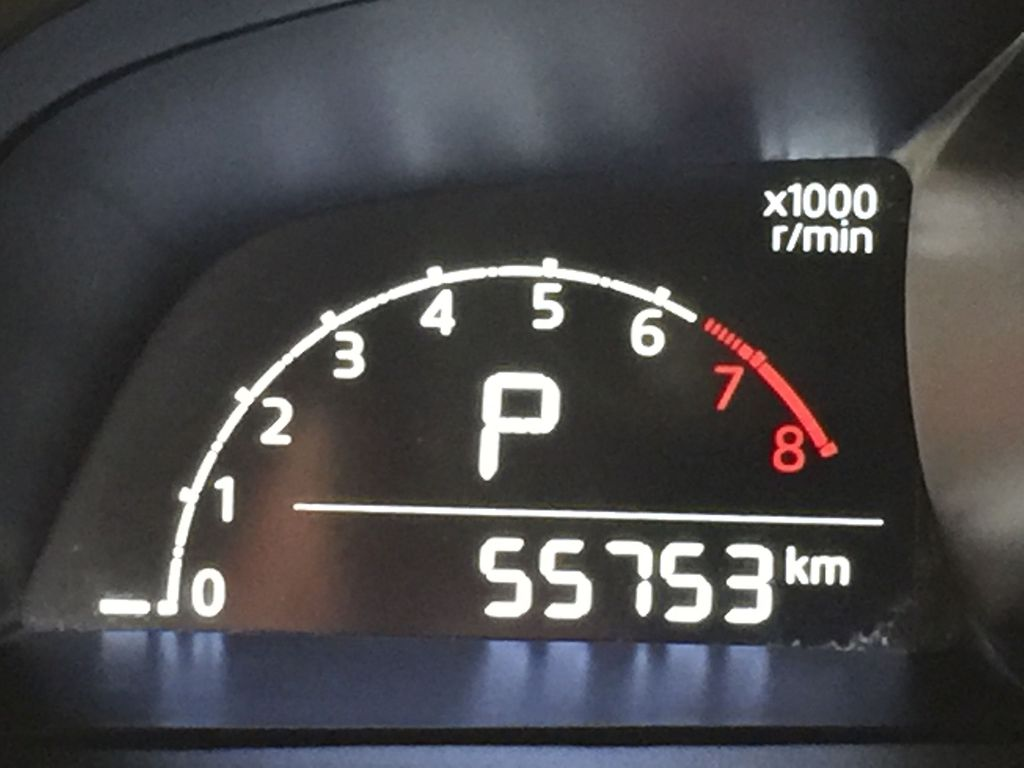 BLUE 2019 Mazda CX-3 GS AWD Odometer Photo in Sherwood Park AB