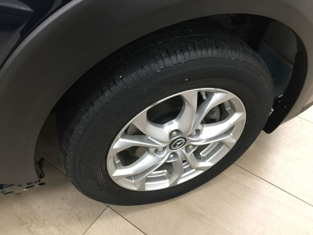 BLUE 2019 Mazda CX-3 GS AWD Right Front Rim and Tire Photo in Sherwood Park AB