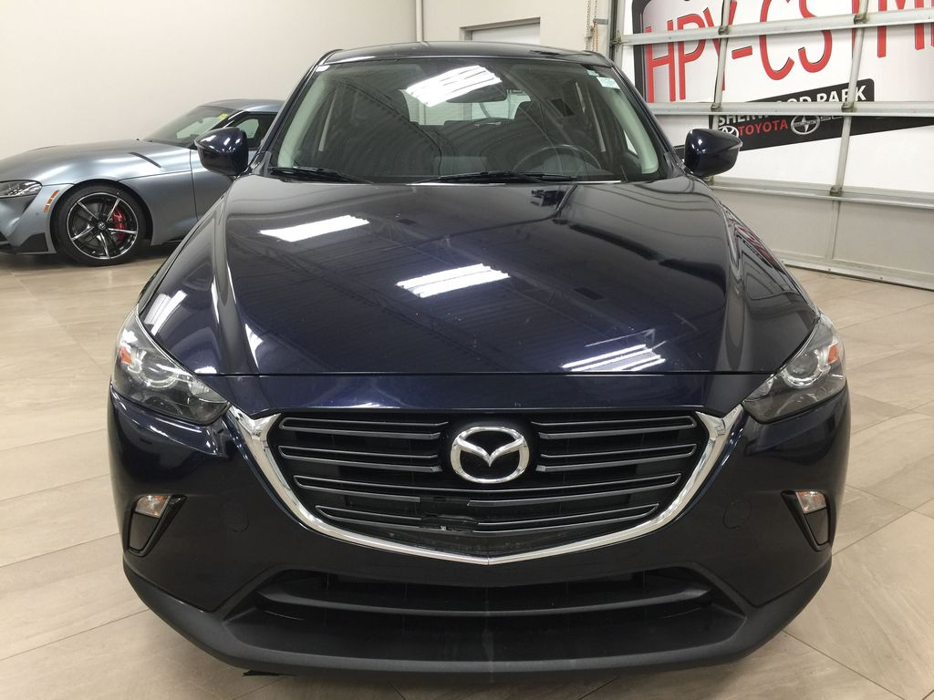 BLUE 2019 Mazda CX-3 GS AWD Front Vehicle Photo in Sherwood Park AB