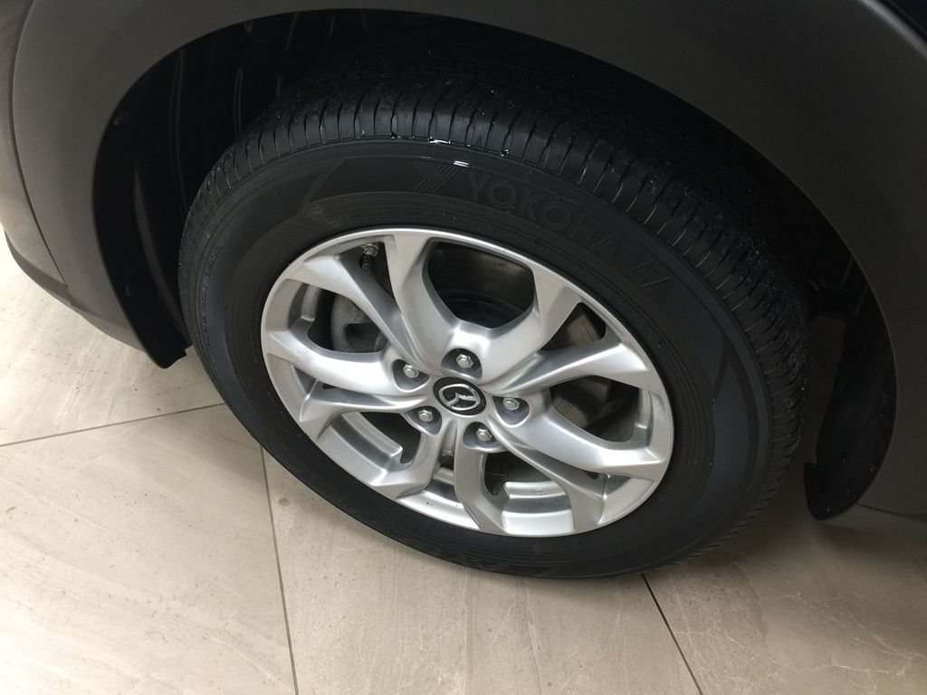 BLUE 2019 Mazda CX-3 GS AWD Left Front Rim and Tire Photo in Sherwood Park AB