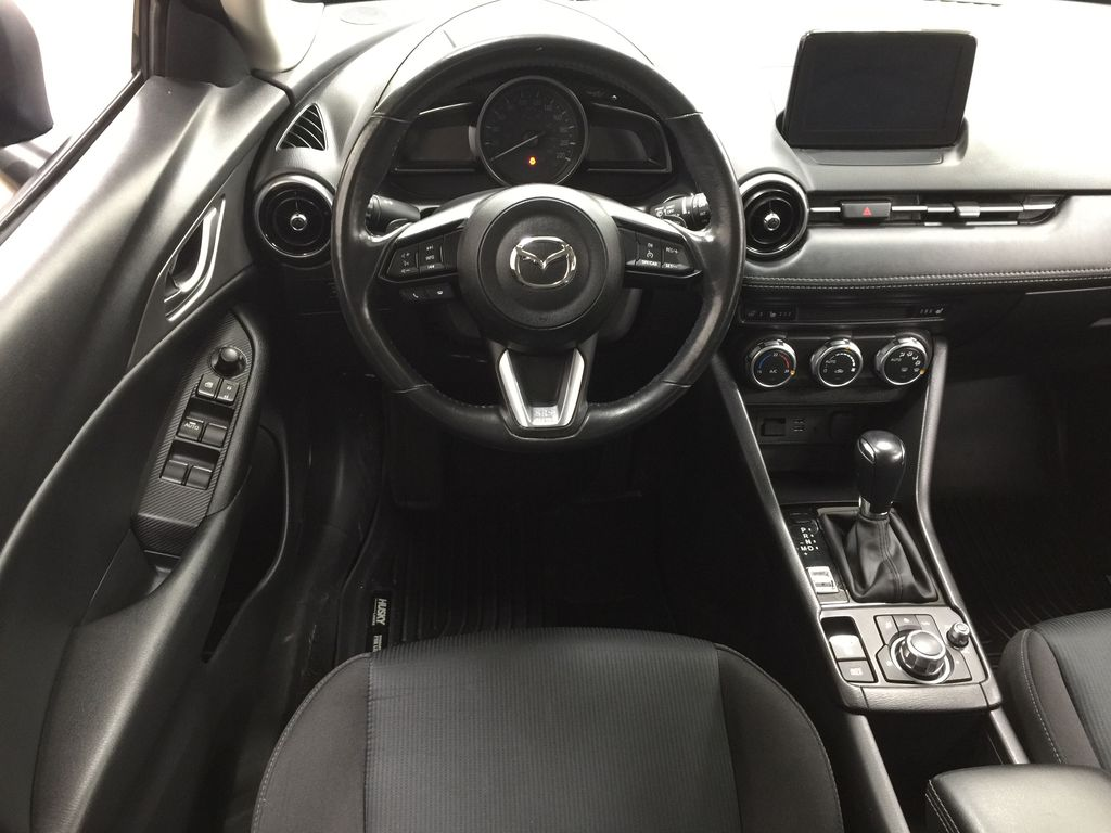 BLUE 2019 Mazda CX-3 GS AWD Left Front Seat Photo in Sherwood Park AB