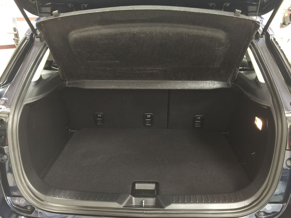 BLUE 2019 Mazda CX-3 GS AWD Cargo Area/Rear Seats Photo in Sherwood Park AB