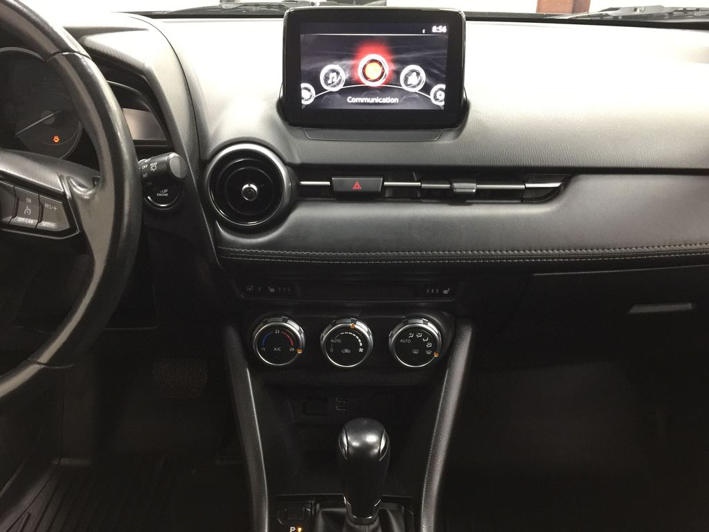 BLUE 2019 Mazda CX-3 GS AWD Central Dash Options Photo in Sherwood Park AB