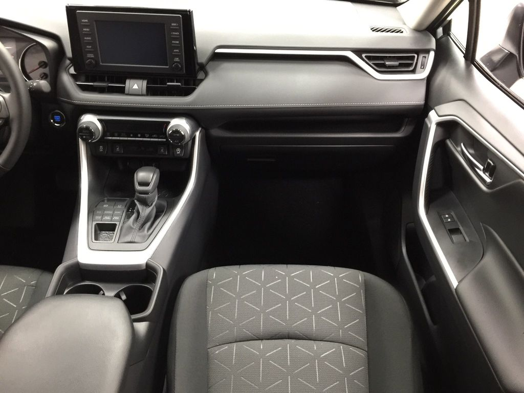 Silver[Silver Sky Metallic] 2021 Toyota RAV4 XLE AWD Right Front Seat Photo in Sherwood Park AB