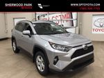 Silver[Silver Sky Metallic] 2021 Toyota RAV4 XLE AWD Primary Listing Photo in Sherwood Park AB
