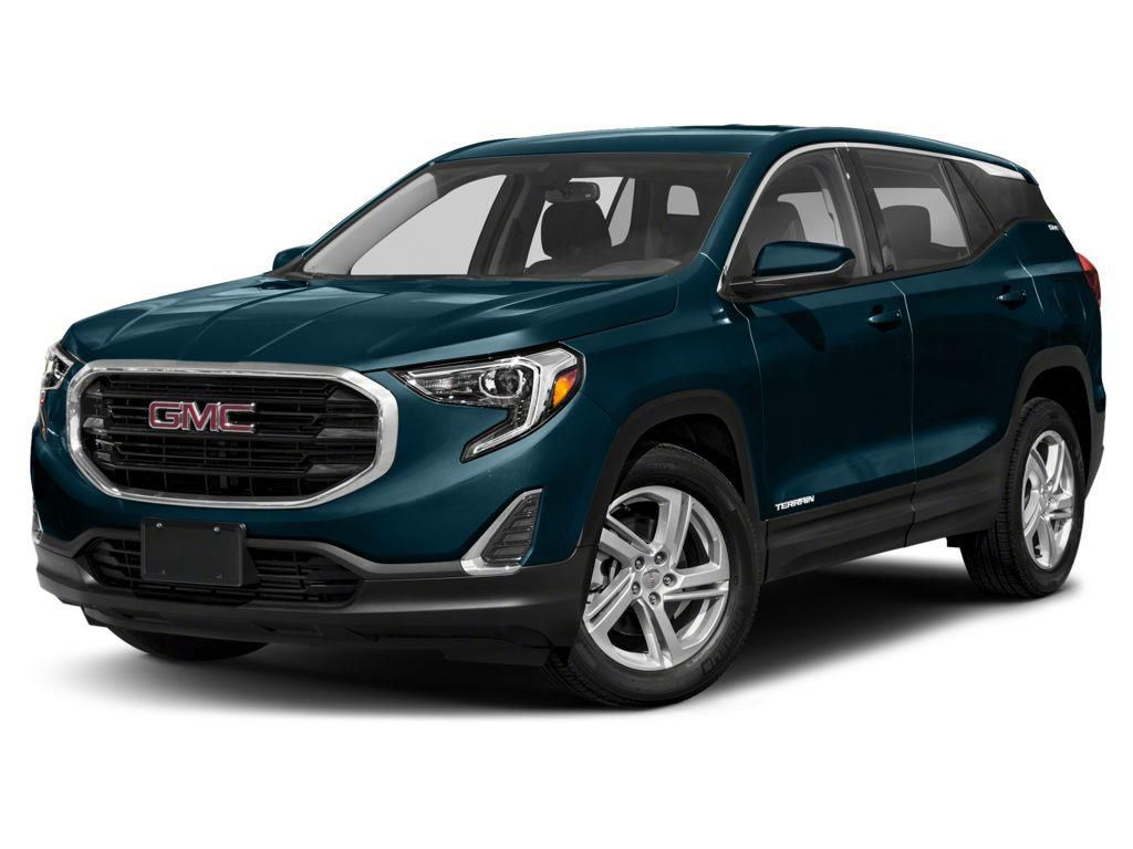 Blue 2021 GMC Terrain