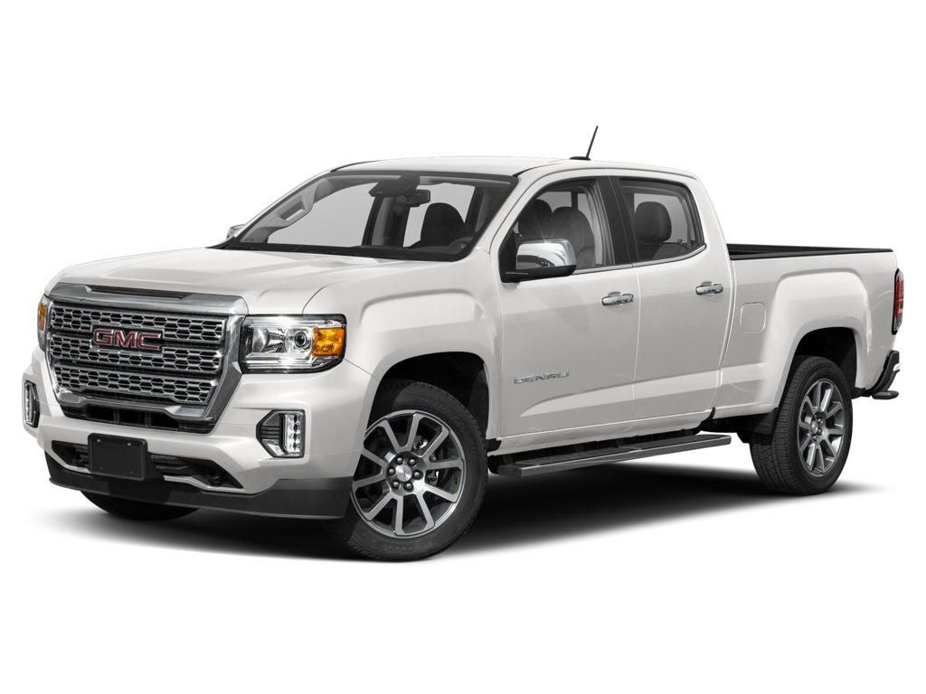 White 2021 GMC Canyon
