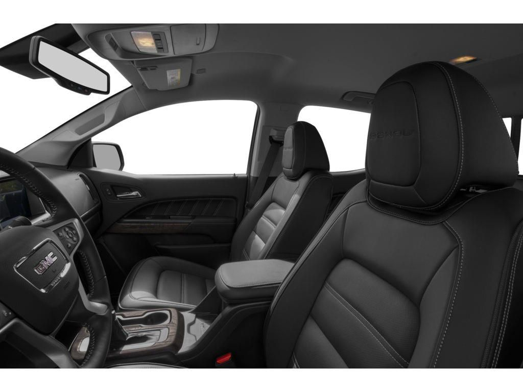 Black 2021 GMC Canyon Left Front Interior Photo in Lethbridge AB